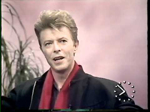David Bowie TV a.m. interview  February / March  1990.