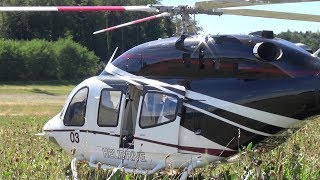 GIGANTIC RC TURBINE HELICOPTER MODEL BELL 429 FULL SCALE