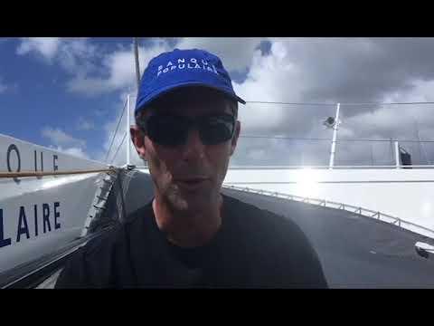 Guadeloupe : Armel Le Cléac'h, skipper de Banque Populaire