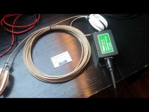 Shortwave Random Wire Antenna  W\9:1UnUn Part 1