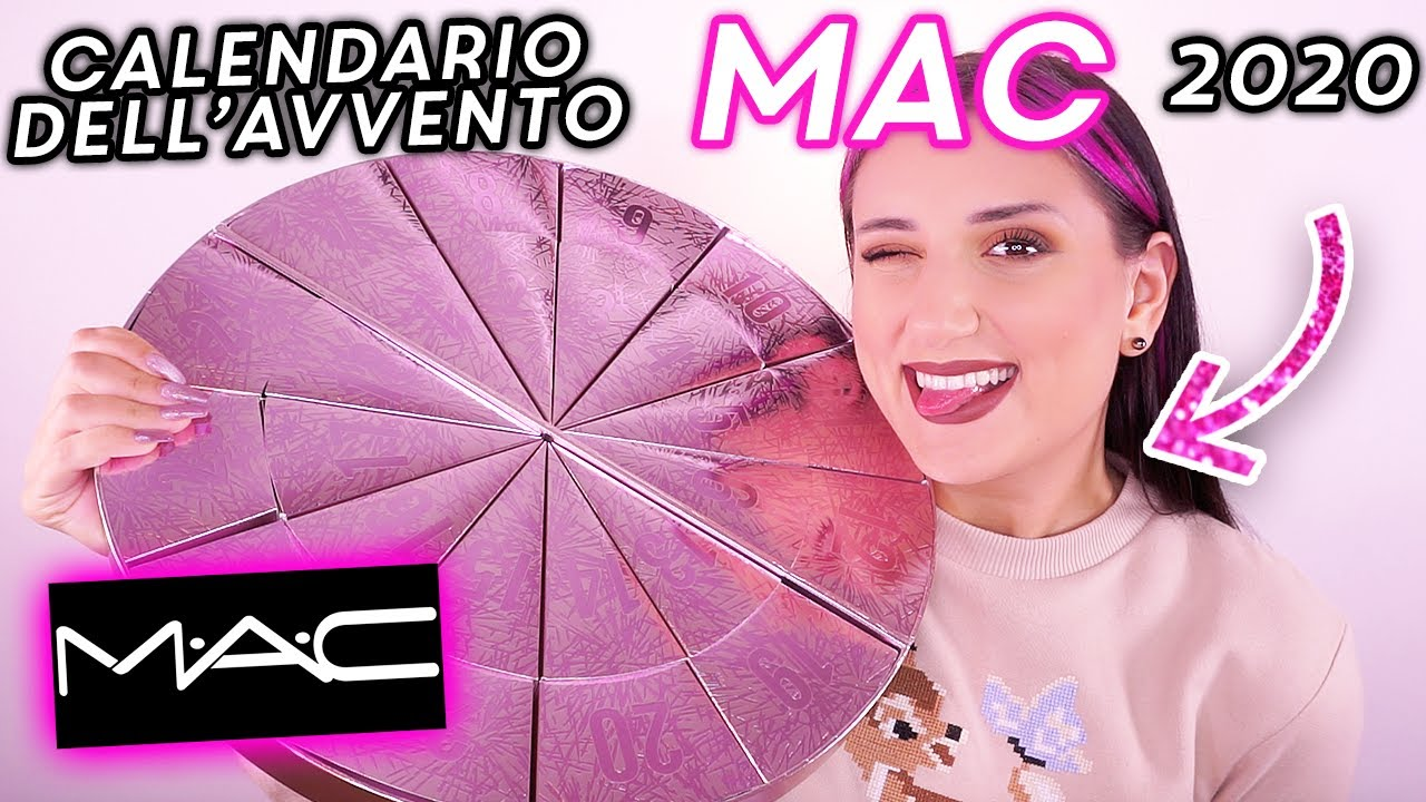 CALENDARIO DELL'AVVENTO MAC COSMETICS 2020 🎁 - YouTube