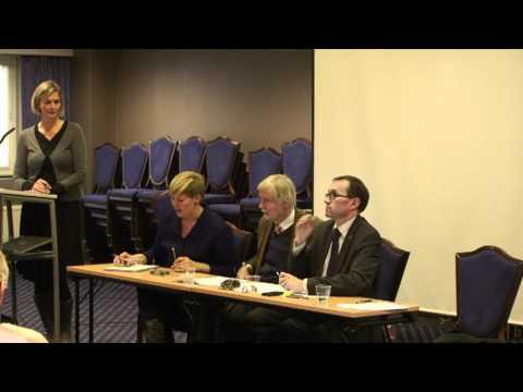 FTT Debate with Espen Barth-Eide, Benedikte Pryneid Hansen and Erkki Tuomaja