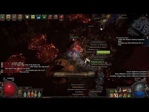 Poe 3.6 Acton's Nightmare Unique Map!