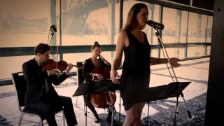 Lovesong Cover Adele/The Cure Cello Violin Singer Wedding Music Royal Botanic Gardens Sydney