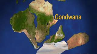 """Watch """"DD Science(English)""""(Making & Breaking of Gondwanaland) on 5th October@5.30 PM on DD National"""