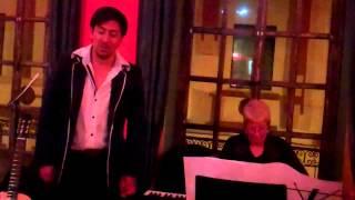 Diego Zamora's Surprise Performance at The Jazz Society Café