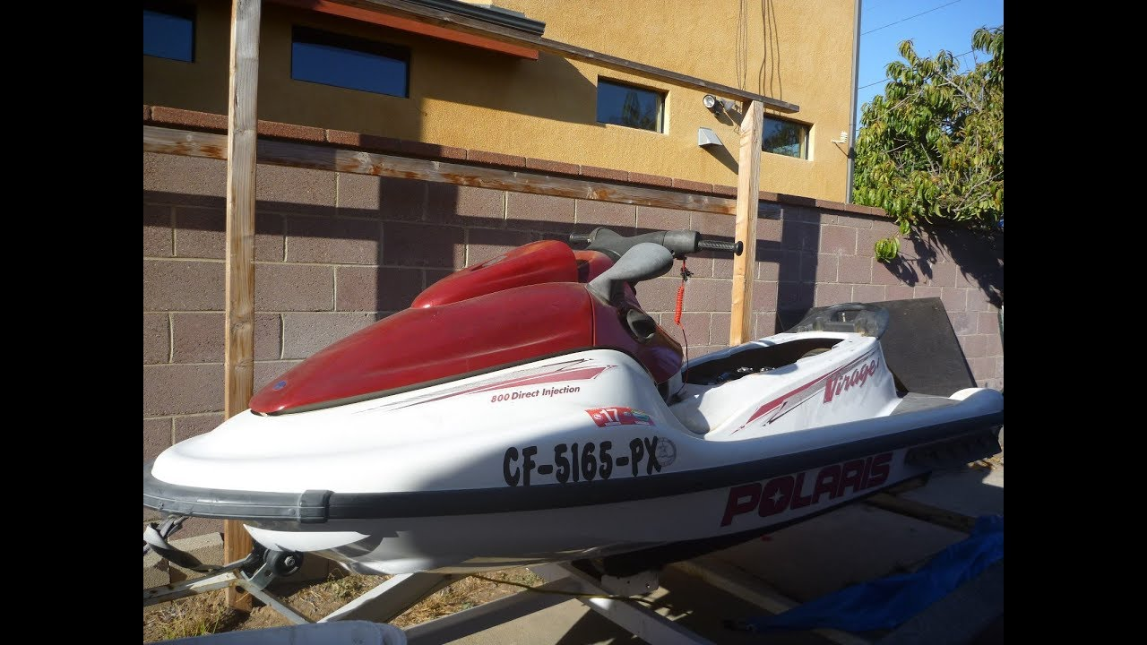 Polaris Virage I 2002 bad emm vs good ficht jetskis