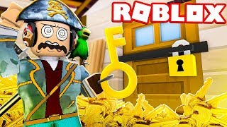 ONLY ONE KEY CAN OPEN THE MYSTERIOUS DOOR!! - ROBLOX