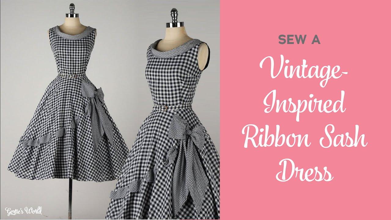 Make a Vintage-Inspired Gingham Sash Dress (It's Sew Easy, Episode 1901)