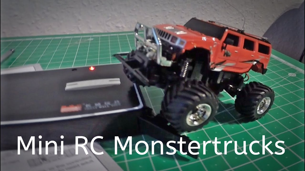 Mini RC Monstertruck Hummer H2 27 Mhz