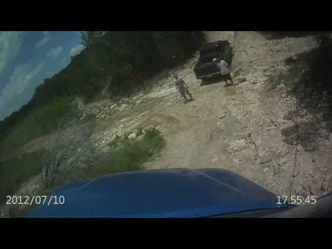 G.A.T.O.R. Greater Austin Toyota Off-Road on Feeder Creek Trail at Hidden Falls