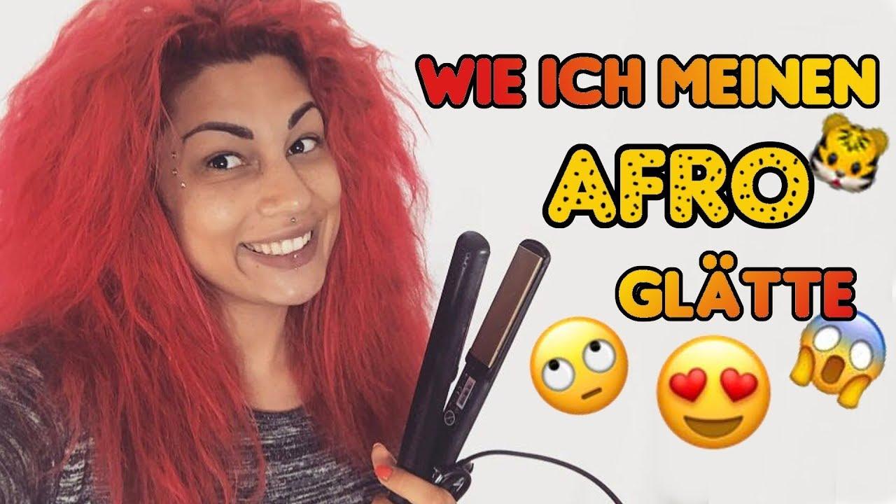 wie ich meine haare glà tte aus afro wird glatt 8 youtube
