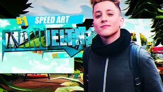 the @TheManueltn1 #127 the ART SPEED HAGO DISEÑOS! the Fortnite