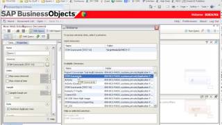 Business Objects XI R3 how to re-point your report to another universe