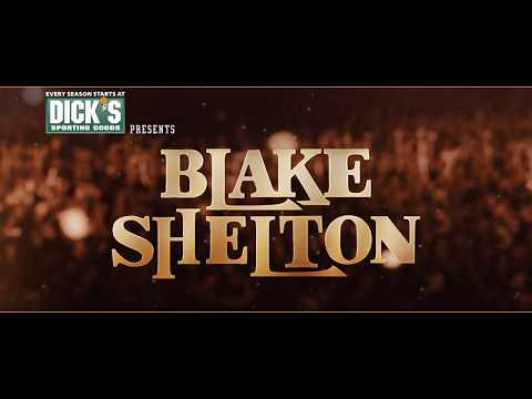 Blake Shelton Performing at The DICK'S Sporting Goods Open