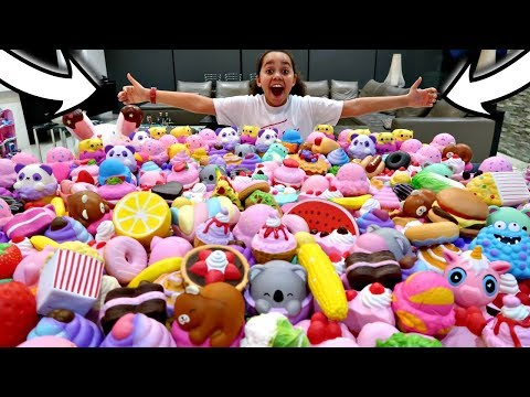 MY Squishy Toys Collection! MEGA GIVEAWAY | Toys AndMe
