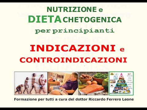 ABC DIETA CHETOGENICA - INDICAZIONI E CONTROINDICAZIONI