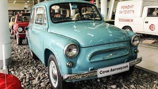 видео Музей ретро-автомобилей (Сочи, Адлер, Олимпийский парк): сайт, отзывы, цены, описание
