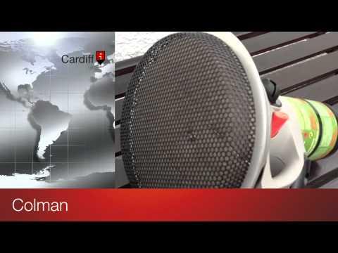 & 2012 Colman Blackcat Tent Heater Test - YouTube