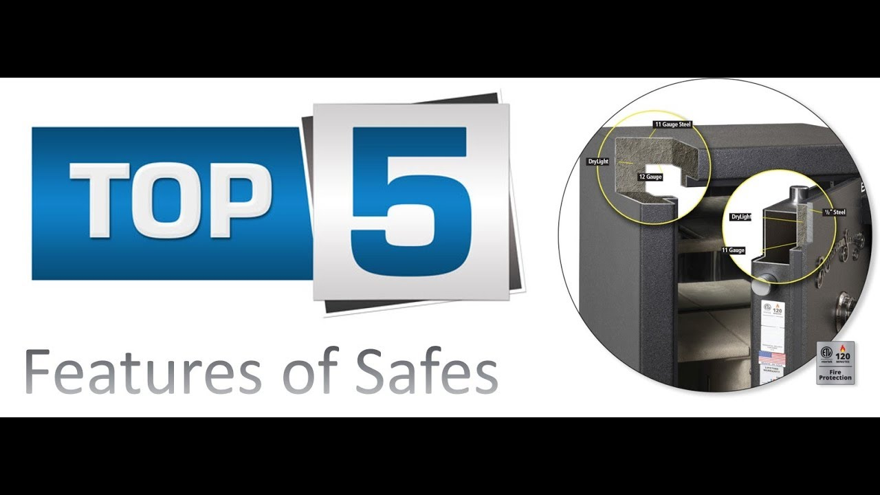 5 Most Important Features When Buying a Safe - Safe Buying Guide