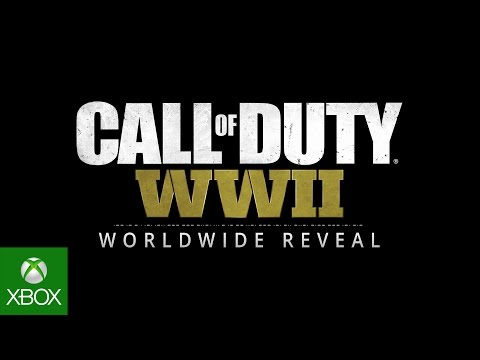 Call of Duty: WWII Reveal Livestream