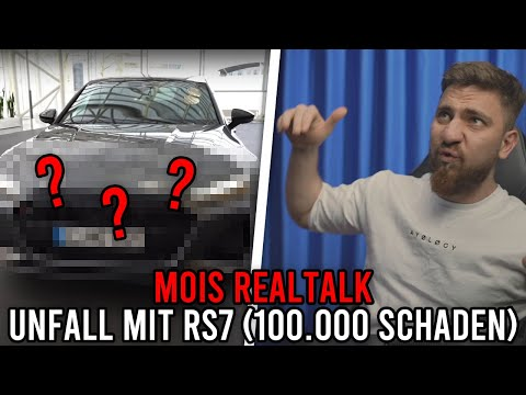 Mois REALTALK über 100.000€ SCHADEN UNFALL mit Audi RS7 😭