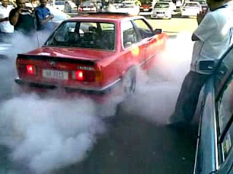 Bmw 333i Burning Rubber Youtube