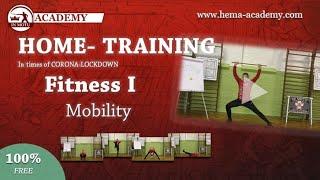 CORONA HOMETRAINING Fitness I - Beweglichkeit