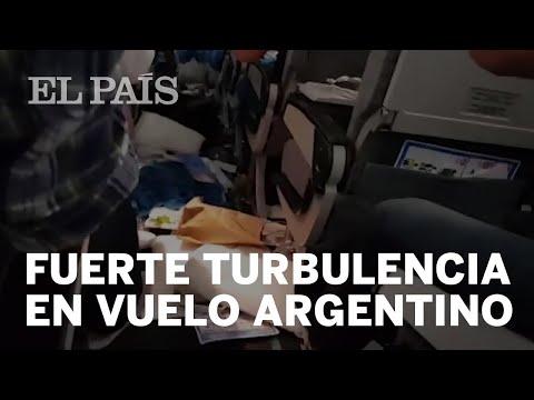 Fuertes turbulencias en vuelo de Aerolíneas Argentinas