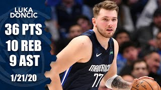 Luka Doncic gets near triple-double in Mavericks vs. Clippers | 2019-20 NBA Highlights