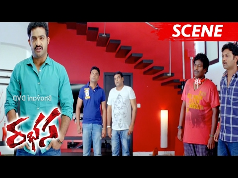 Jr NTR Reveals Flashback - Emotional Scene - Rabhasa Movie Scenes
