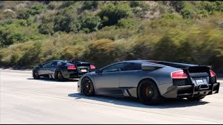 Worlds LOUDEST Lamborghinis Takeover California Highways!