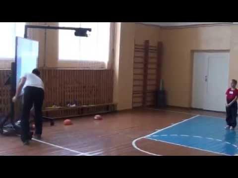 Урок физкультуры во 2 классе на тему Прыжок в длину с места