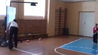 """Урок физкультуры во 2 классе на тему """"Прыжок в длину с места"""""""