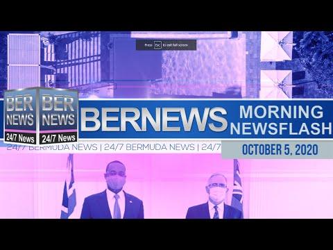 Bermuda Newsflash For Monday, Oct 5, 2020