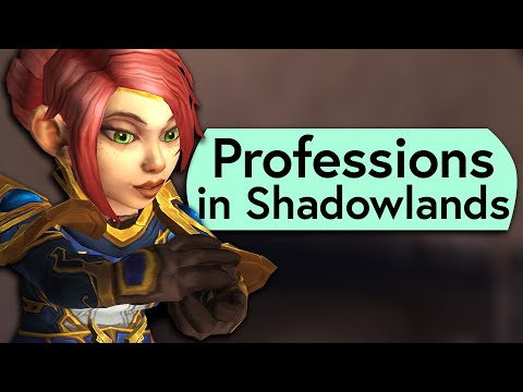 Profession Changes in Shadowlands – Best Crafted Items in the WoW Shadowlands Alpha