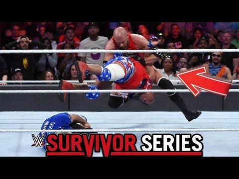 Mejores Momentos De WWE Survivor Series 2017