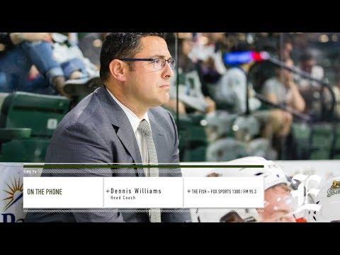 Everett Silvertips head coach Dennis Williams interview on Fox Sports 1380