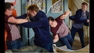 EastEnders spoiler: Jay Brown PUNCHES Ben Mitchell in violent fight as tensions reach boiling point
