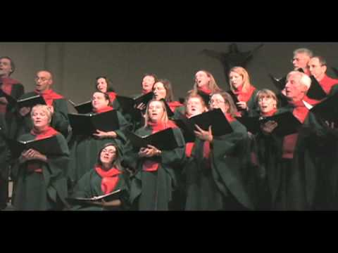T'was in the Moon of Wintertime - arr: John Rutter -- The Stairwell Carollers