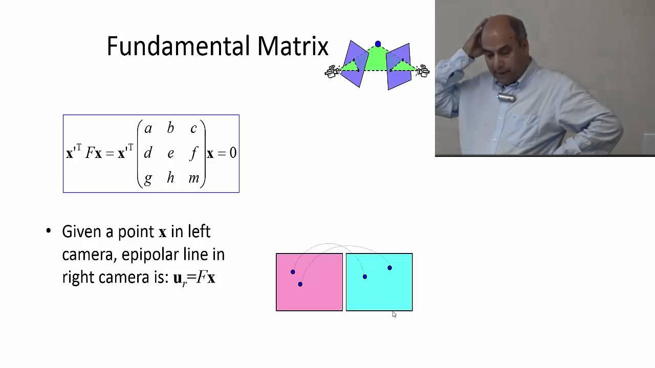 lecture 13 fundamental matrix 2014 youtube