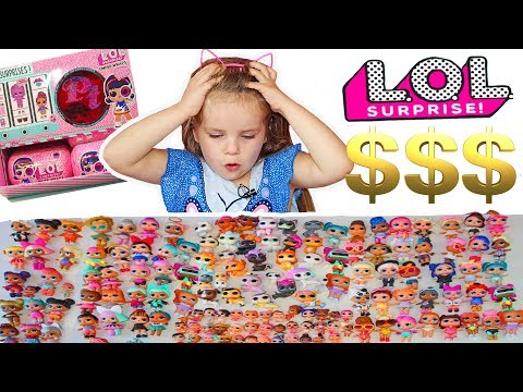 Our LOL Surprise COLLECTION! HOW MUCH DID IT ALL COST? POPSY TOYS