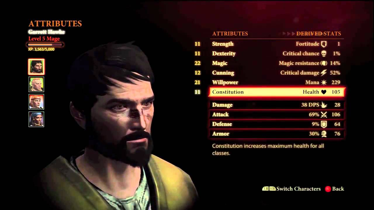 Best Dragon Age Origins Mage Build