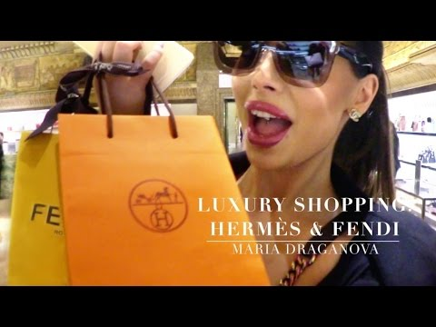 Vlog | Luxury Shopping: Hermes & Fendi | Fendi By The Way, Saint Laurent, Dior