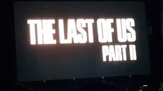 The Last of Us Part 2 Reveal Trailer REACTION at PSX 2016