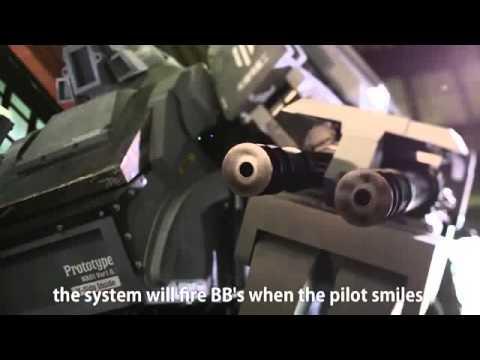 Японский боевой робот Куратас