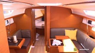 2017 Jeanneau Sun Odyssey 419 - Deck and Interior Walkaround - 2016 Annapolis Sailboat Show