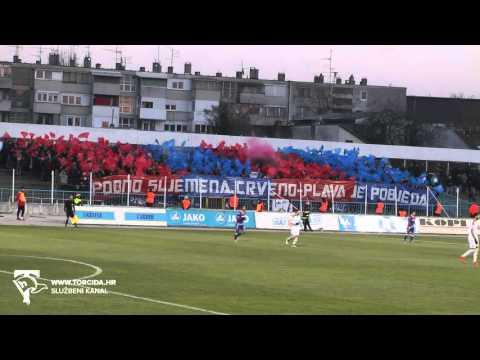 Torcida Split / N.K.Zagreb - Hajduk Split 0:2 (18. Kolo prvenstva Hrvatske)