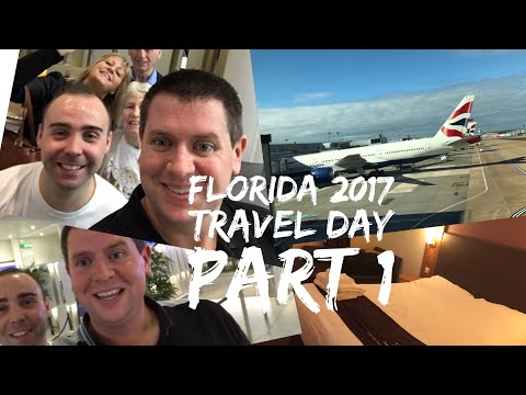 Walt Disney World & Florida 2017 Vlog - October 2017 - Day 1 - Travel Day Part 1