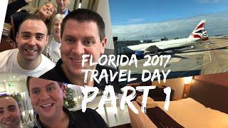 Walt Disney World & Florida 2017 Vlog - October 2017 - Day 1 - Travel Day Part 1